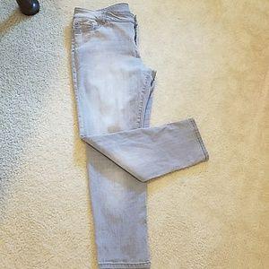 Gray Soho boyfriend jeans